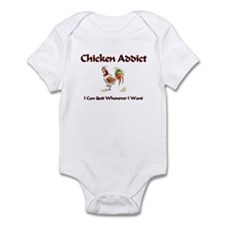 Chicken Addict Infant Bodysuit