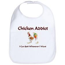 Chicken Addict Bib