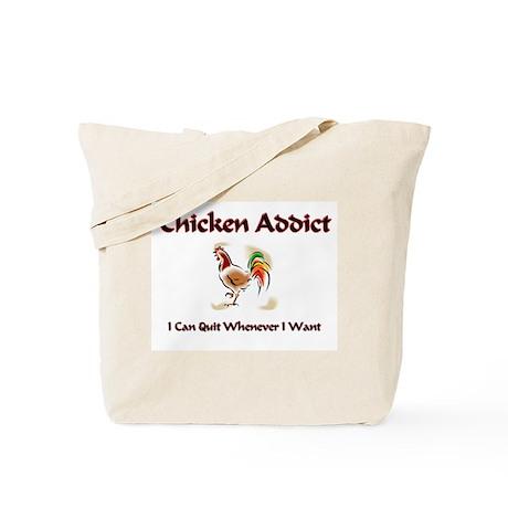 Chicken Addict Tote Bag