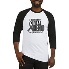 Never Knew A Hero 2 Grey (Mother) Baseball Jersey