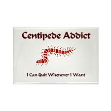 Centipede Addict Rectangle Magnet