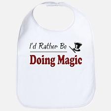 Rather Be Doing Magic Bib