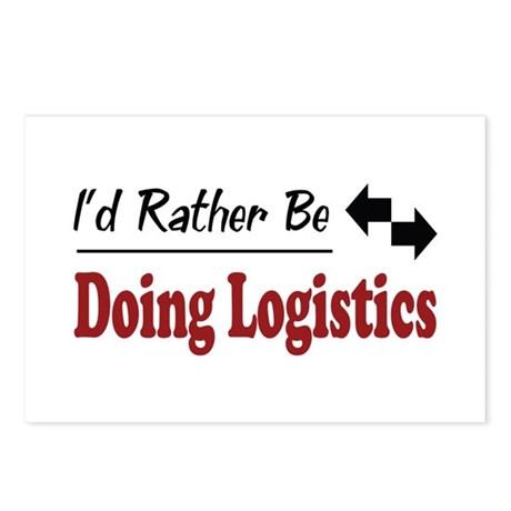 Rather Be Doing Logistics Postcards (Package of 8)