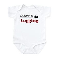 Rather Be Logging Infant Bodysuit