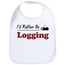 Rather Be Logging Bib
