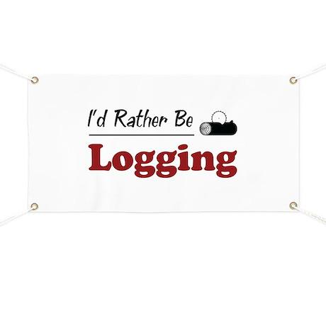 Rather Be Logging Banner