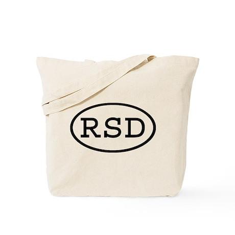 RSD Oval Tote Bag