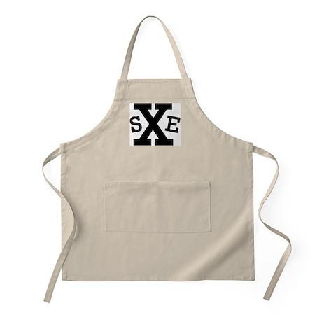 sXe (Straight Edge) BBQ Apron