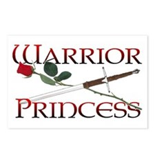 Warrior Princess Postcards (Package of 8)