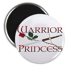 """Warrior Princess 2.25"""" Magnet (10 pack)"""