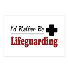 Rather Be Lifeguarding Postcards (Package of 8)