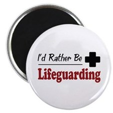 "Rather Be Lifeguarding 2.25"" Magnet (10 pack)"