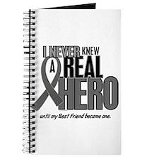 Never Knew A Hero 2 Grey (Best Friend) Journal