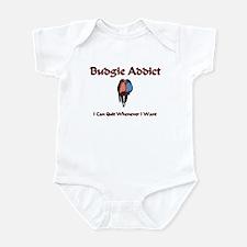 Budgie Addict Infant Bodysuit