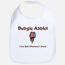 Budgie Addict Bib