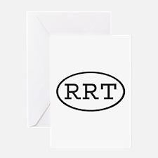 RRT Oval Greeting Card