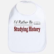 Rather Be Studying History Bib