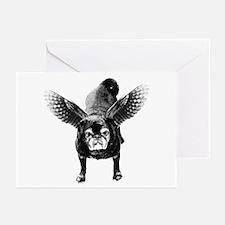 Pug Angel Greeting Cards (Pk of 10)