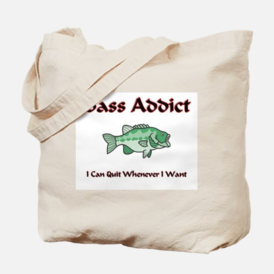 Bass Addict Tote Bag