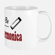 Rather Be Playing Harmonica Mug