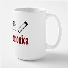 Rather Be Playing Harmonica Mug