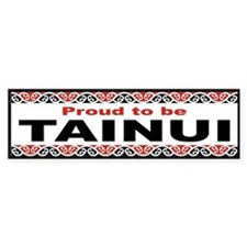 Tainui Bumper Car Car Sticker