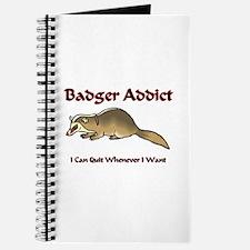Badger Addict Journal