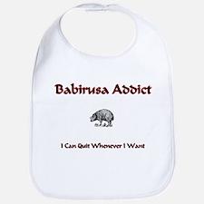 Babirusa Addict Bib