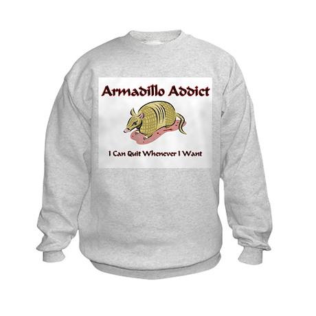 Armadillo Addict Kids Sweatshirt