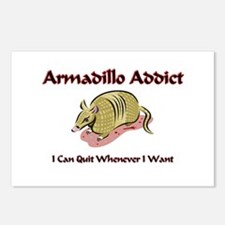 Armadillo Addict Postcards (Package of 8)