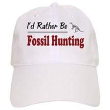Rather Be Fossil Hunting Baseball Cap
