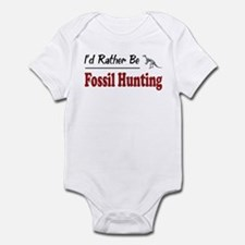 Rather Be Fossil Hunting Infant Bodysuit