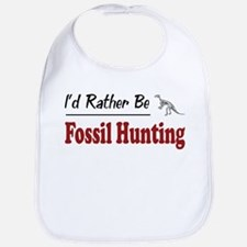 Rather Be Fossil Hunting Bib