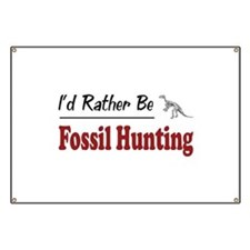 Rather Be Fossil Hunting Banner
