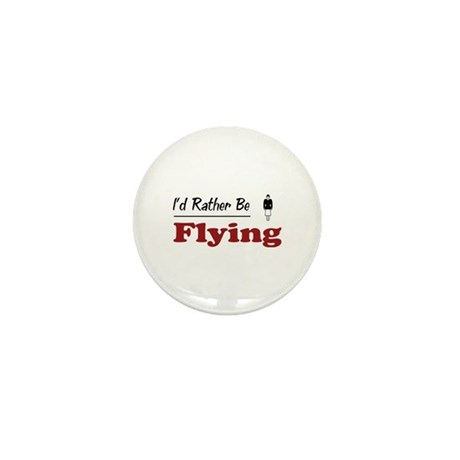 Rather Be Flying Mini Button (10 pack)