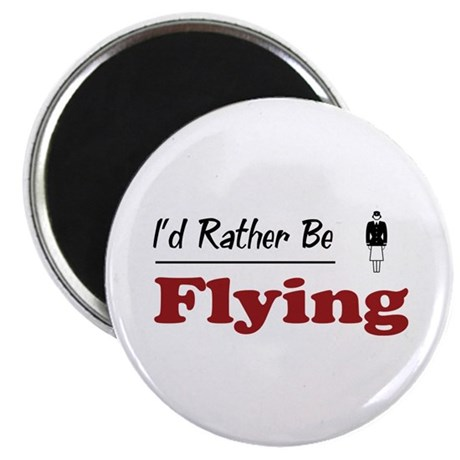 "Rather Be Flying 2.25"" Magnet (100 pack)"