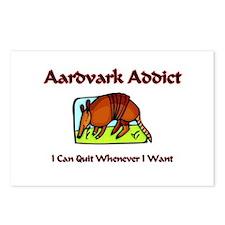Aardvark Addict Postcards (Package of 8)