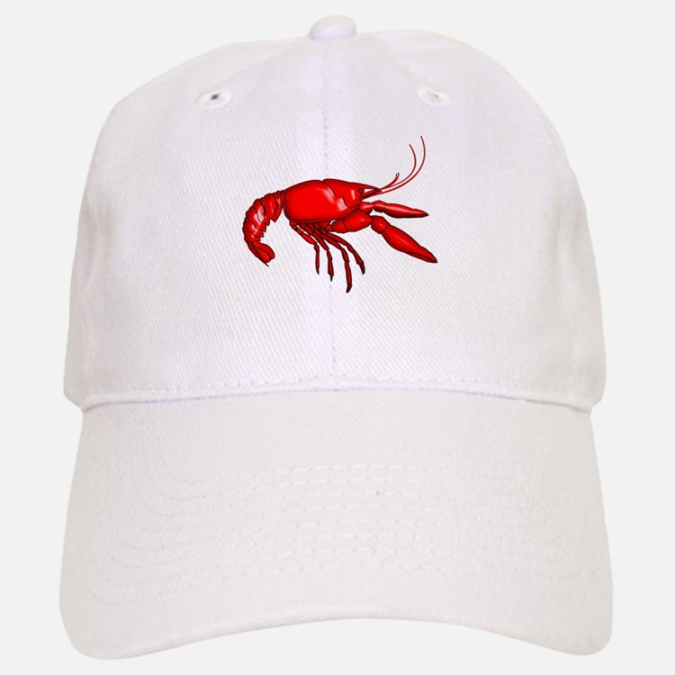 Louisiana Crawfish Baseball Baseball Cap