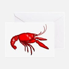 Louisiana Crawfish Greeting Card