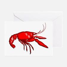 Louisiana Crawfish Greeting Cards (Pk of 10)