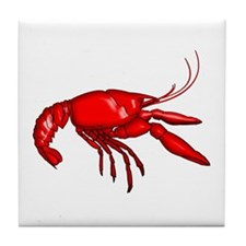 Louisiana Crawfish Tile Coaster