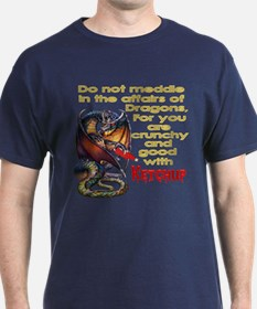Don't mess with dragons T-Shirt