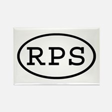 RPS Oval Rectangle Magnet