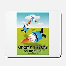 Garden Gnome Tippers Mousepad