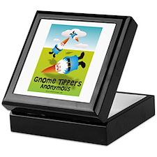 Garden Gnome Tippers Keepsake Box