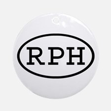 RPH Oval Ornament (Round)