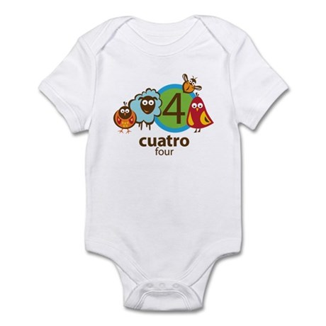 Cuatro Infant Bodysuit