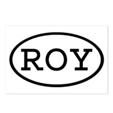 ROY Oval Postcards (Package of 8)