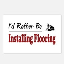 Rather Be Installing Flooring Postcards (Package o