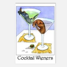 Cocktail Wieners (Longhaired Postcards (Package o